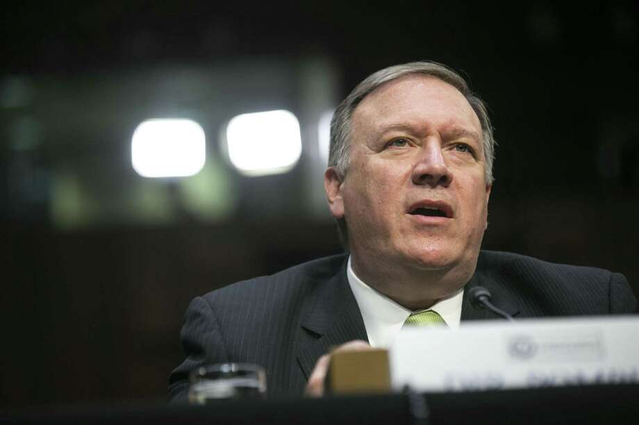 CIA Director Mike Pompeo says the U.S. needs to redouble its efforts to  stem leaks. Photo: AL DRAGO / NYT / NYTNS