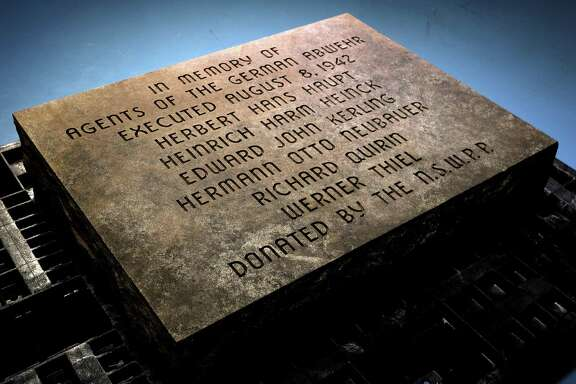 The stone commemorating Nazi spies is kept in a secret location in a storage facility owned by the National Park Service in Maryland.