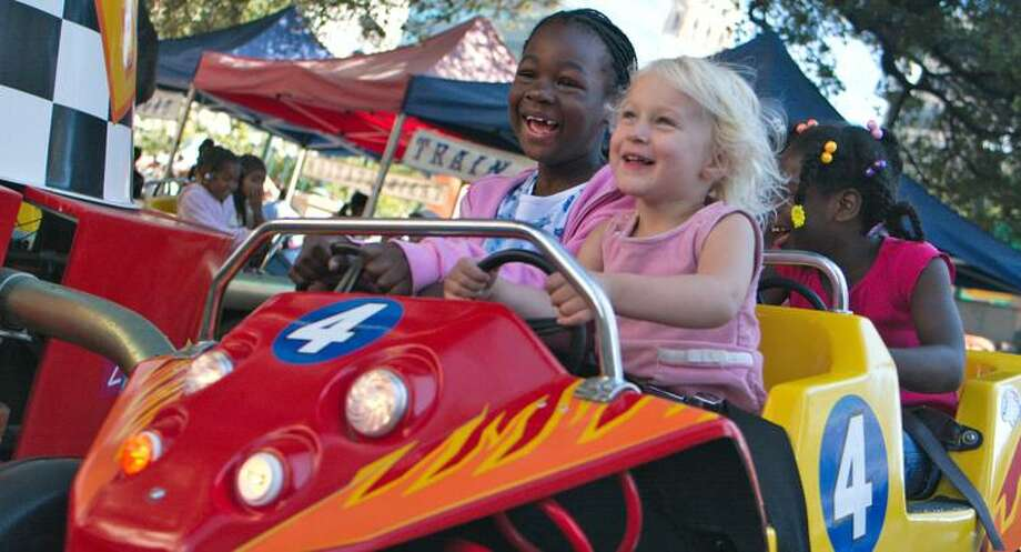 The Family Fun Zone at Art + Soul features kid-friendly carnival rides, interactive art and face painting.