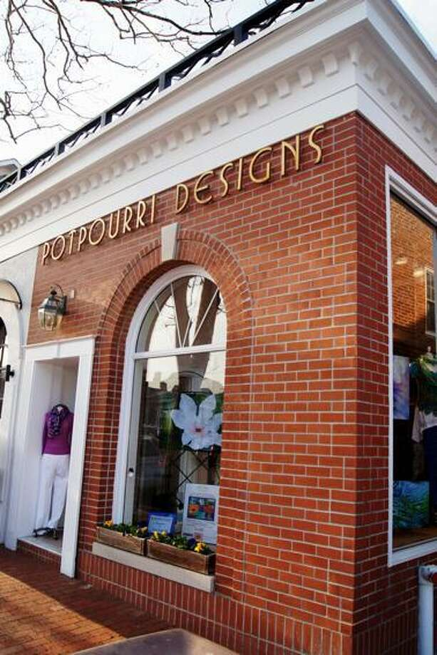 Lyn Evans Poptourri Designs at 103 Elm St. in New Canaan, Conn. Photo: Contributed / Hearst Connecticut Media / New Canaan News
