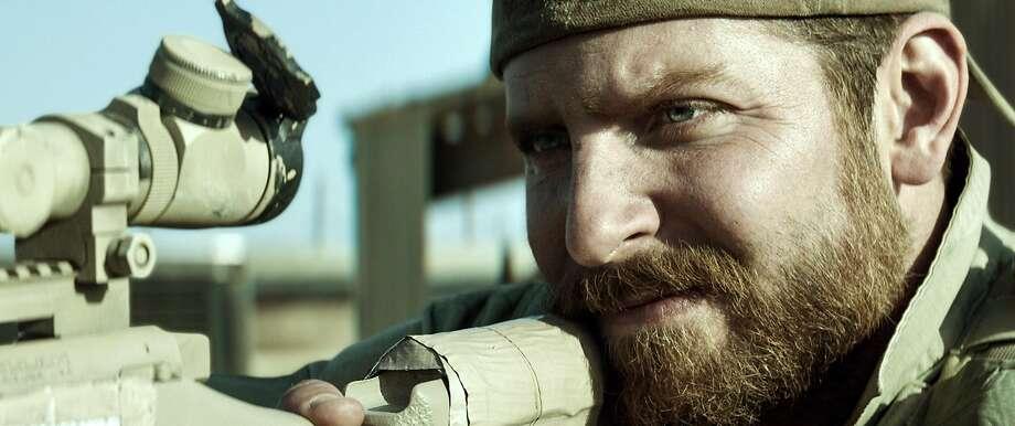 "Bradley Cooper in ""American Sniper."" Photo: Uncredited, Associated Press"