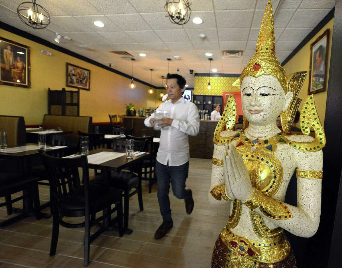 A view of the new InThai Restaurant at 83 Atlantic St., in downtown Stamford, Conn., on Thursday, June 22, 2017.