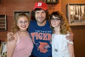 Katherine Craddock, Brennan Smiley y Victoria Craddock.