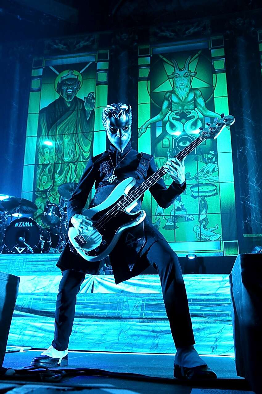 SAN ANTONIO, TEXAS - JUNE 24: Water of Ghost performs in concert at AT&T Center on June 24, 2017 in San Antonio, Texas. (Photo by Gary Miller/Getty Images)