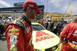 Monster Energy NASCAR Cup Series driver Dale Earnhardt Jr. (88), before the Toyota Savemart 350 at the Sonoma Raceway on Sunday, June 25, 2017 in Sonoma, CA.  This was his last race here before retirement.