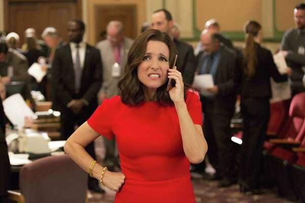 """Julia Louis-Dreyfus plays former President Selina Meyer in """"Veep."""""""
