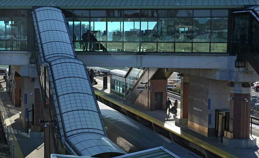 Travelers wait for their train at the Albany-Rensselaer Amtrak Train Station on Monday, Nov. 23, 2015, in Rensselaer , N.Y. (Lori Van Buren / Times Union archive)
