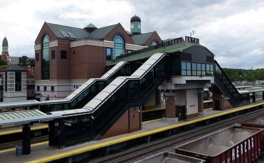 Exterior view of the Albany?-Rensselaer Rail Station on Wednesday, Sept. 7, 2016, in Rensselaer, N.Y. (Will Waldron/Times Union archive)
