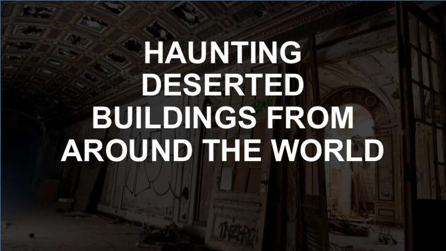 Click on to see images of some of the world's creepiest abandoned buildings.