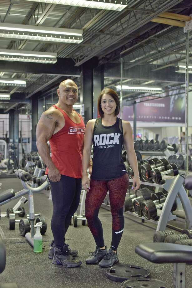 Jaime and Gina Tovar are competing at the NPC Battle on the Bay July 8 in Corpus Chrsiti. Photo: Ulysses S. Romero /Laredo Morning Times / Laredo Morning Times