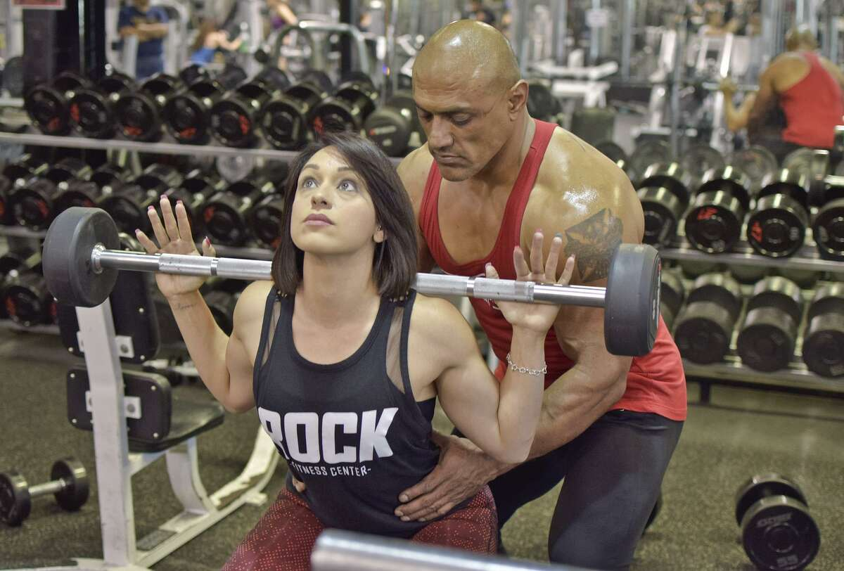 Jaime and Gina Tovar are competing at the NPC Battle on the Bay July 8 in Corpus Chrsiti.