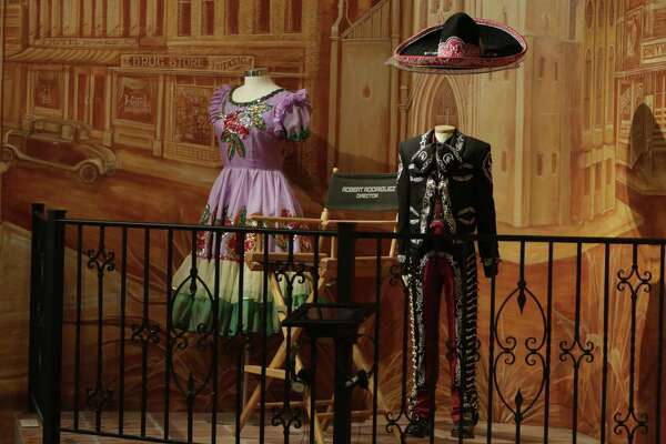 The Institute of Texan Cultures has its share of modern artifacts, such as the mariachi jacket of San Antonio performer Sebastien de la Cruz, a handmade stage dress by celebrated singer and 12-string guitarist Lydia Mendosa and a director's chair used by famous filmmaker and San Antonio native Robert Rodriguez.