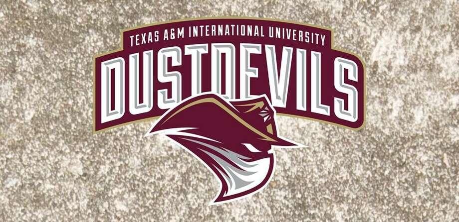 TAMIU Dustdevils Logo Banner Photo: Courtesy Of TAMIU Athletics