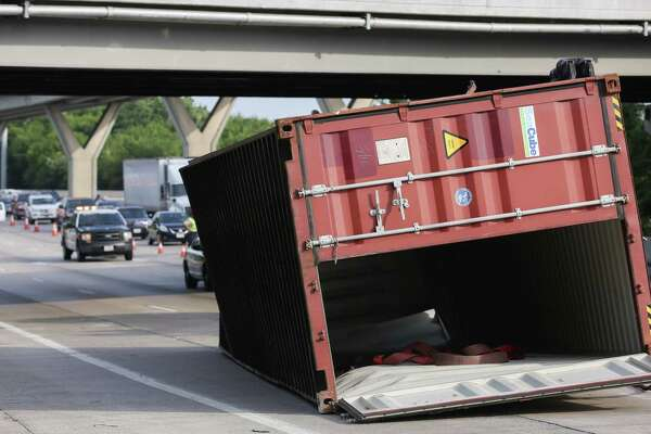 The bridge in question has at least 14 feet, 3 inches of clearance. Officials said the truck driver who hit the bridge had no idea he was over the limit.
