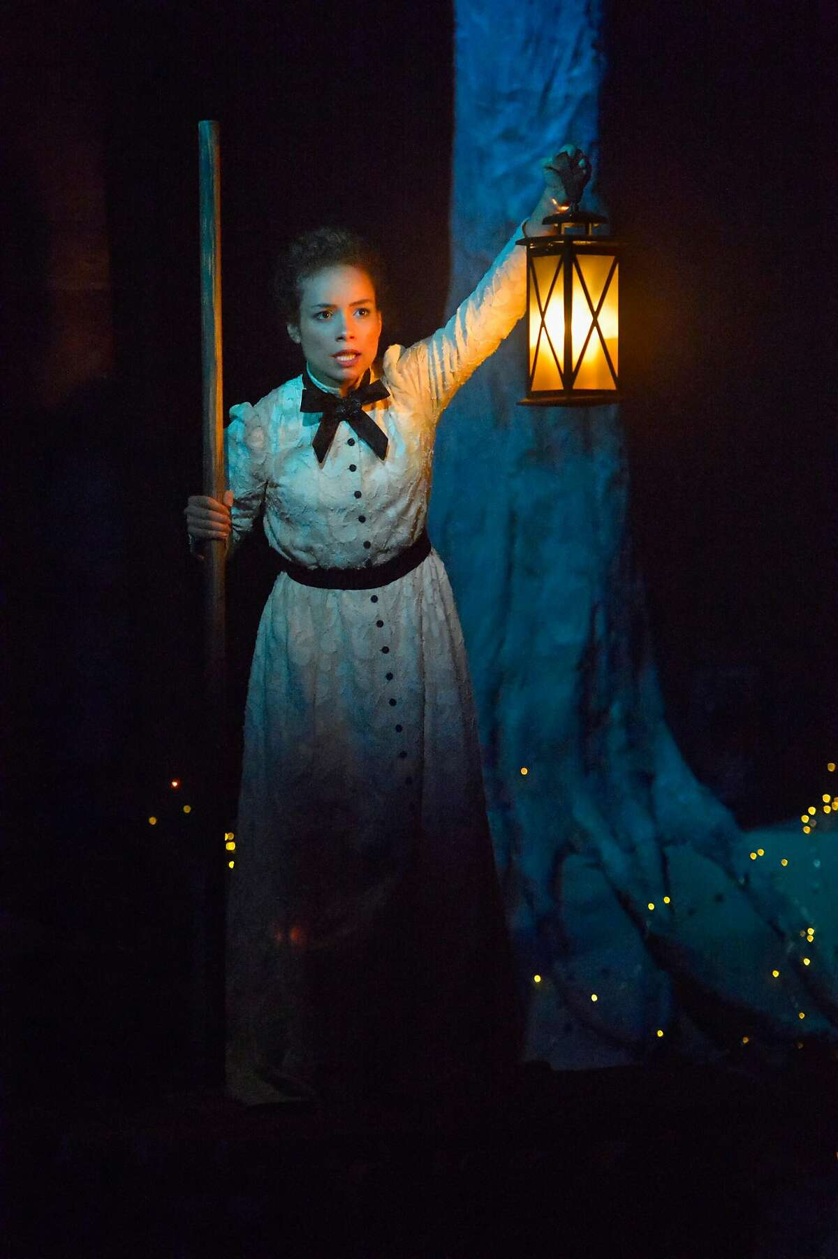 "Sydney Morton as Zoe in ""An Octoroon""at Berkeley Rep."
