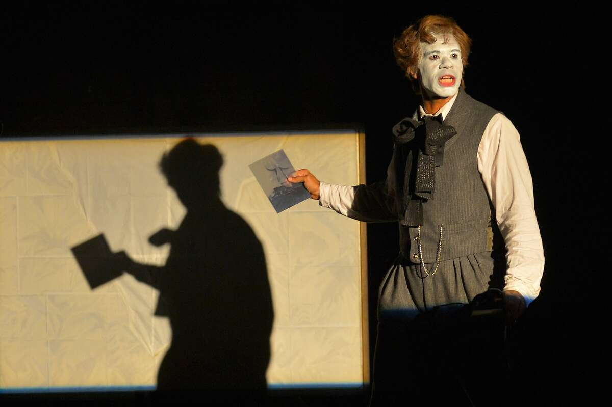"""Lance Gardner as George in """"An Octoroon""""�at Berkeley Rep."""