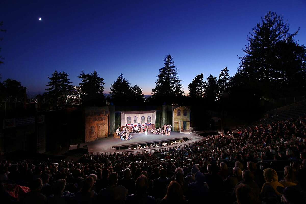 Woodminster Amphitheater offers a stunning setting for a musical.