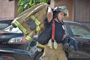 Laredo Fire Department investigate an apartment fire at Mission Viejo at the 5500 block of Mcpherson Rd Monday, June 26, 2017.