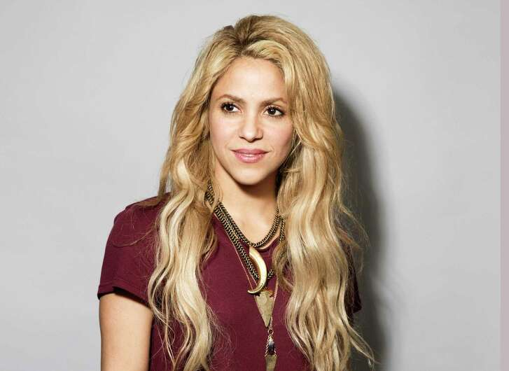 "In this May 16, 2017 photo, Colombian performer Shakira poses for a portrait in New York to promote her 11th album ""El Dorado"". (Photo by Victoria WIll/Invision/AP)"