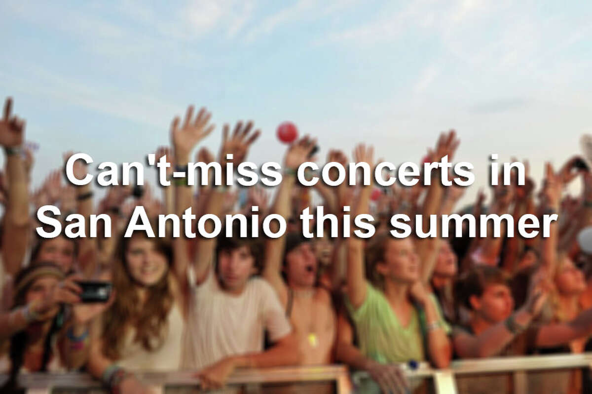 This summer San Antonio is putting on a show - well, many shows.Click through the gallery to view can't-miss concerts heading to San Antonio for summer 2017.
