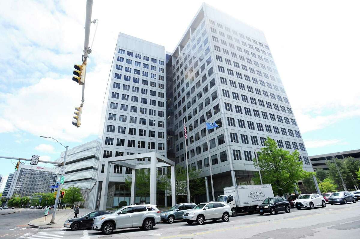 Charter Communications' headquarters are located at 400 Atlantic St. in downtown Stamford, Conn.