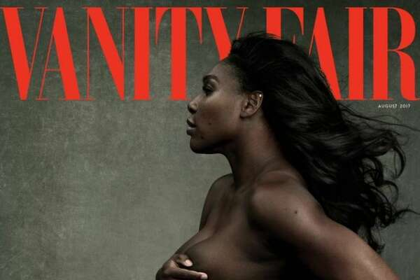 Serena Williams appeared on the August cover of Vanity Fair.