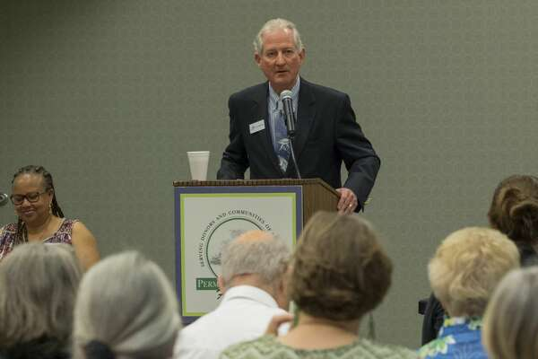 Guy McCrary, Permian Basin Area Foundation president and CEO, welcomes everyone 6/27/17 to the semi-annual foundation competitive grant awards ceremony. Tim Fischer/Reporter-Telegram