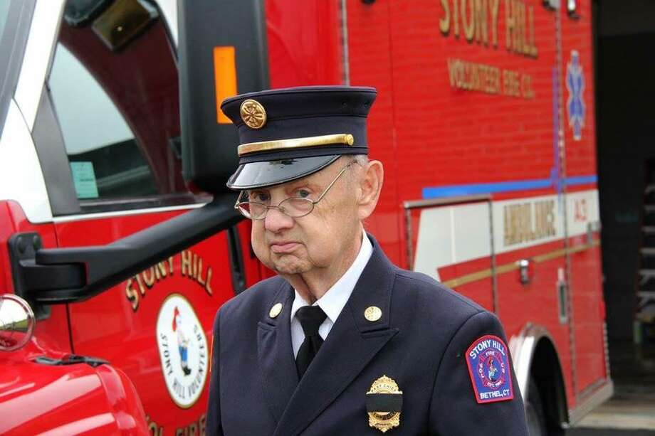 Former Stony Hill Volunteer Fire Company Chief James Belot Photo: / Contributed