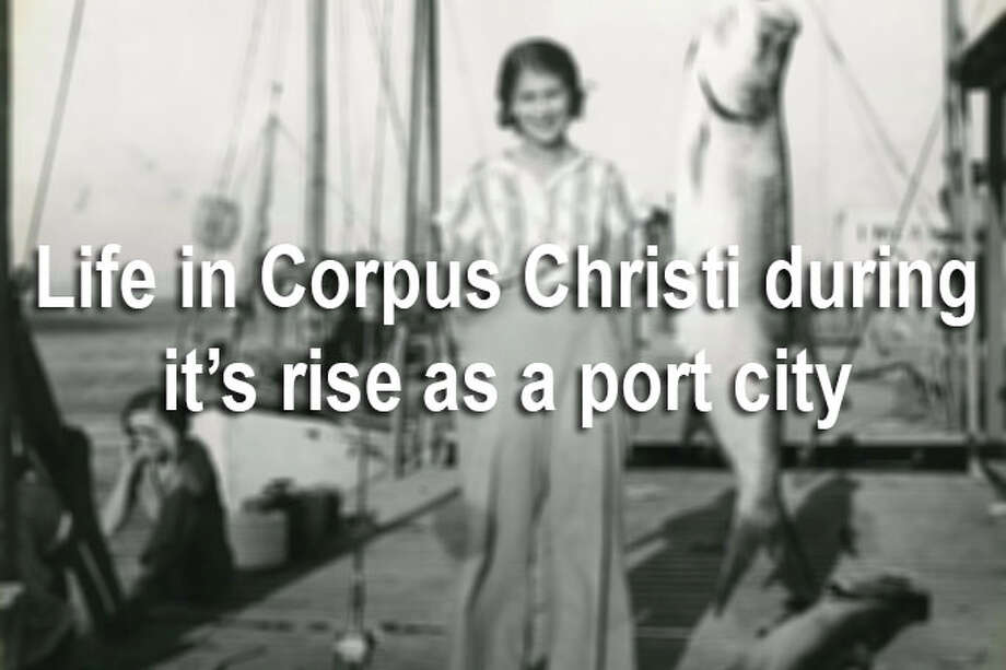 After hurricanes devastated Corpus Christi in 1916 and 1918, business leaders pushed for the development of a port. The site was settled on a fall hunting trip at King Ranch in 1921, and five years later, the city dedicated Port Corpus Christi. Click through the gallery to see the evolution of Corpus Christi from a quiet seaside town to a developing industry hub. Photo: File