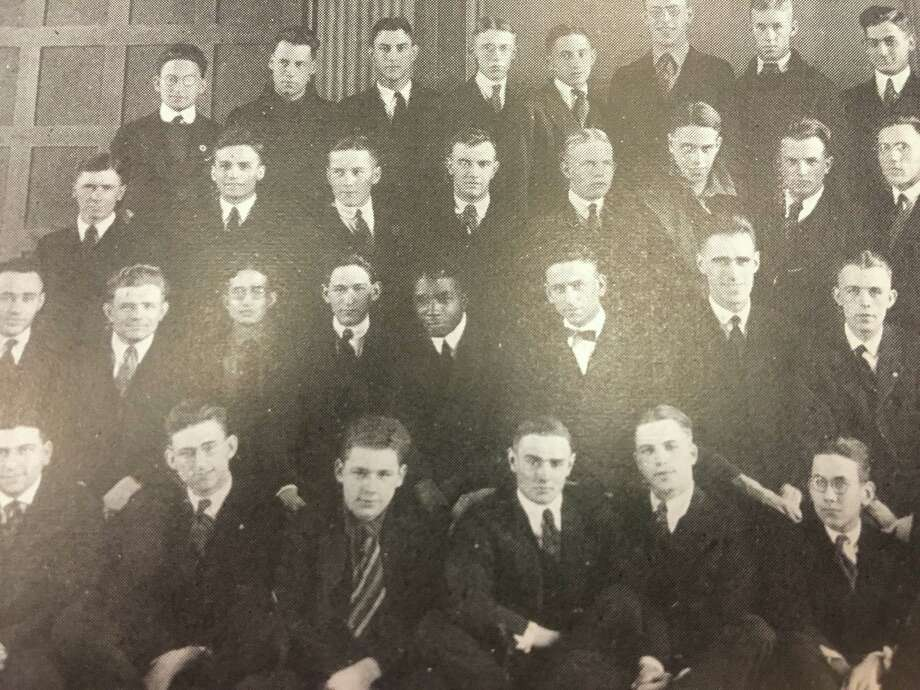 Wendell King in a Radio Club photo from The Garnet, the Union College yearbook Photo: Union College