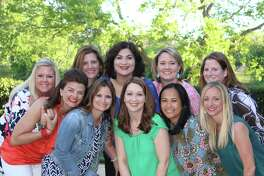 Fort Bend Junior Service League board members began their 2017-18 term on June 1. From left are: Front Row: Laura Taylor, Past President; Colleen Fox, Director of Community Service; Sherri Ebarb, Director of Public Relations; Susan Correa, Treasurer; and Emily Calbert, President-Elect.; back row: Kelsea Lake, Director of New Members; Katie Parsons, Secretary; Jen Rizzo, President; Emily Rhodes, Director of Technology; and Gillian Parker, Director of Membership. Not pictured: Jennifer Gottlieb, Vice President.