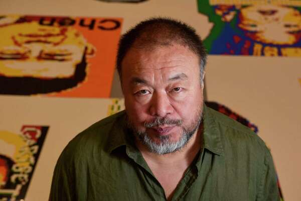 "Ai Weiwei, internationally known artist and activist, is at the Hirshhorn Museum and Sculpture Garden in Washington, D.C., for his new exhibit, ""Ai Weiwei: Trace at Hirshhorn."""