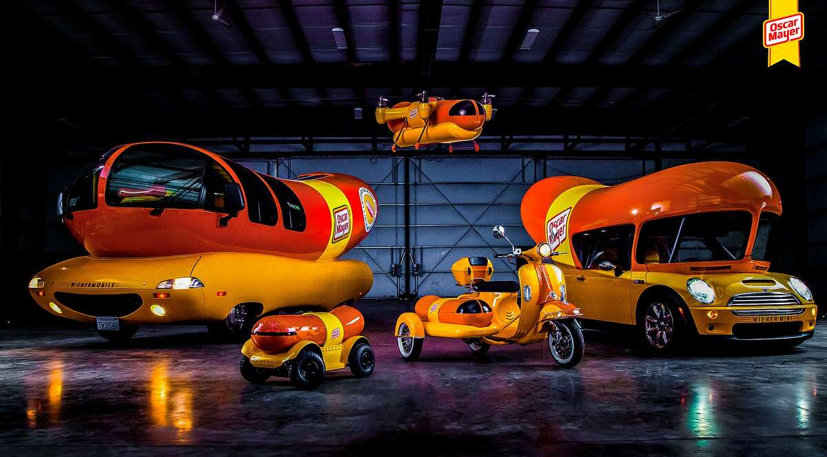 Oscar Mayer's fleet of promotional vehicles now includes a hot dog-delivering drone.