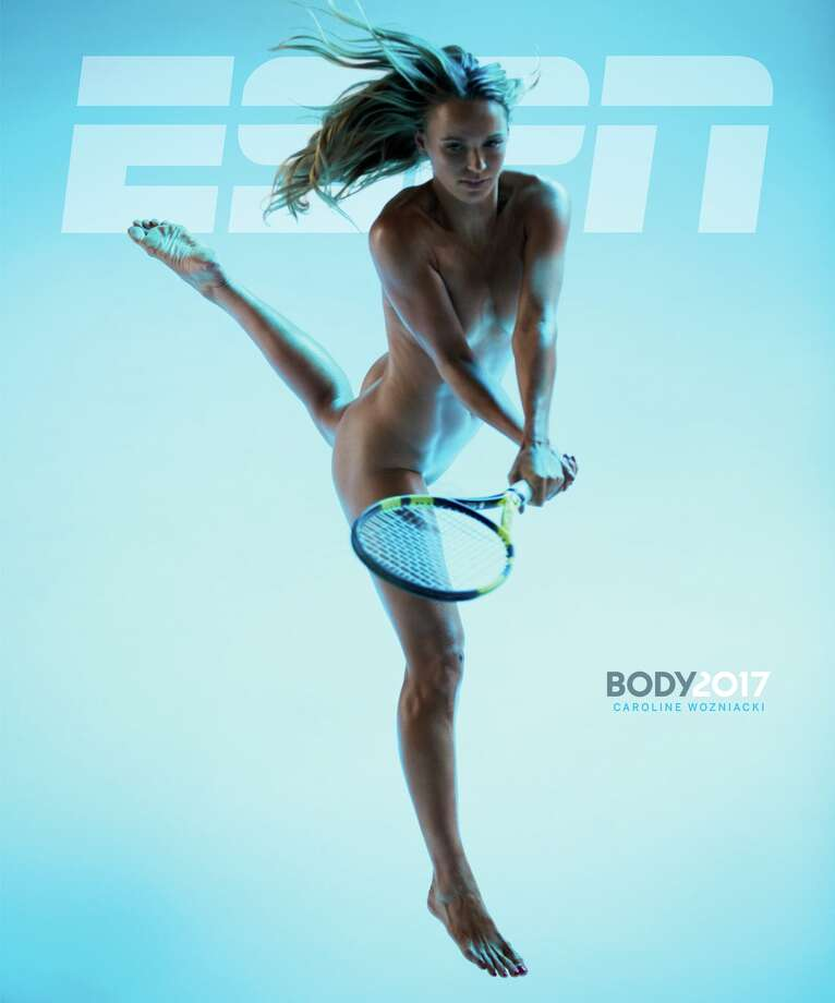 WARNING: Photos in the gallery display nudity and aren't suitable for all readersCaroline Wozniacki on the cover of the 2017 ESPN Body Issue Photo: Dewey Nicks/ESPN