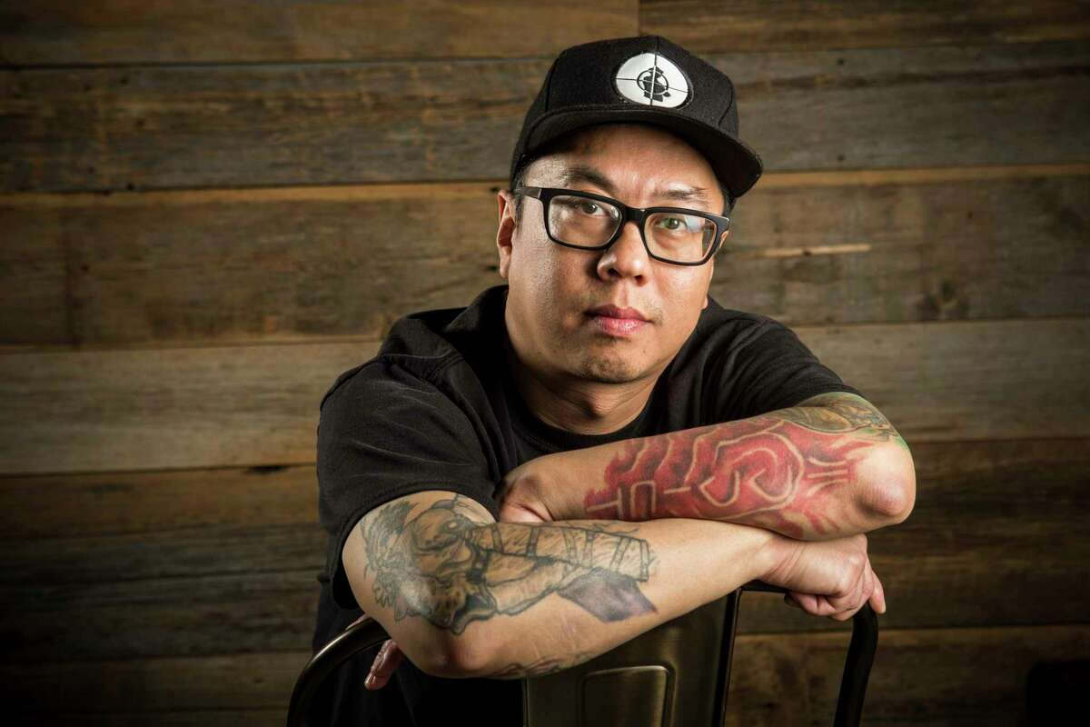 Pitmaster Quy Hoang of Blood Bros. BBQ