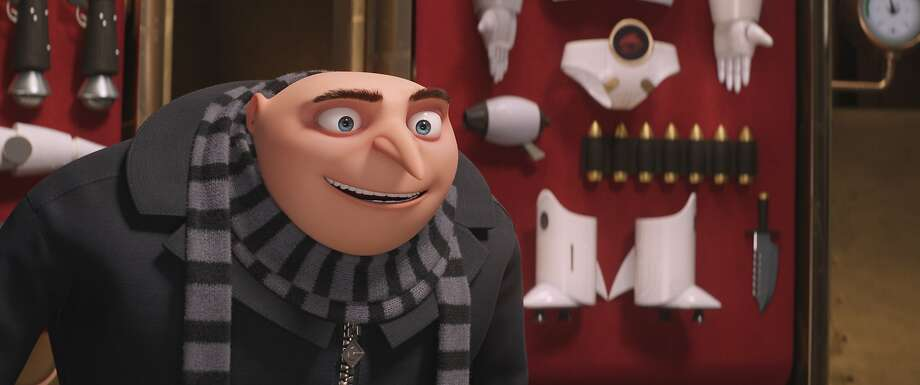 Gru is voiced by Steve Carell. Photo: Associated Press