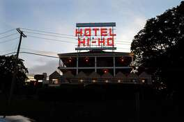 4180 Black Rock Turnpike, Fairfield: The iconic sign on the former Motel Hi-Ho is back, this time reflecting the property's new identity. Now reading 'Hotel Hi-Ho,' the red letters, which light up at night, have long been a landmark seen from the Merritt Parkway. For years, the hotel was owned by F. Francis 'Hi Ho' D'Addario's family. Built in 1960, the property's reputation took a dive over the years until it was sold in 2014 for $4.35 million and turned into a upscale hotel.
