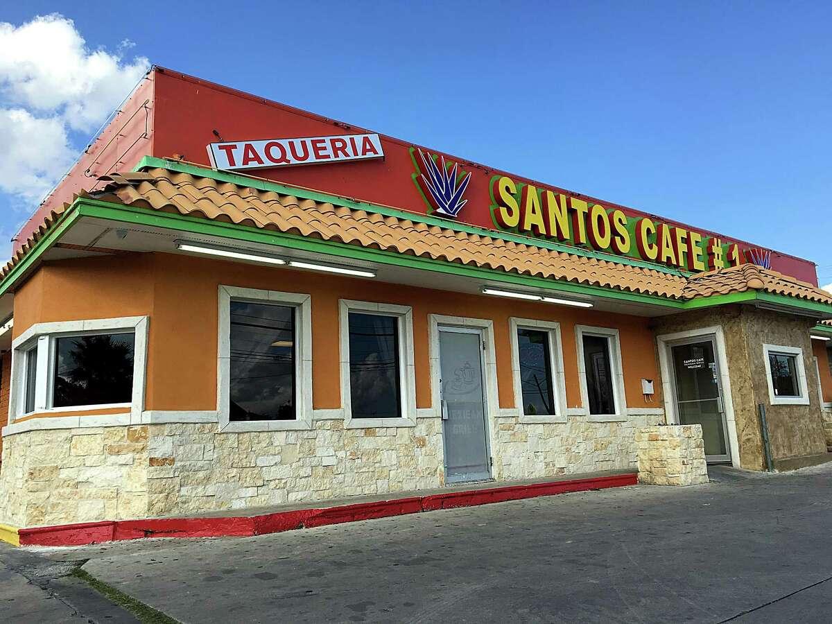 Santos Cafe #1 on Jackson Keller Road.
