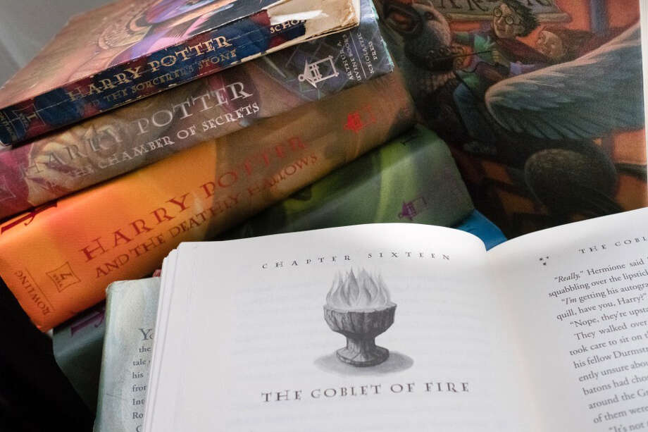 "A collection of ""Harry Potter"" books. Photo: Washington Post Photo By Sarah L. Voisin / The Washington Post"