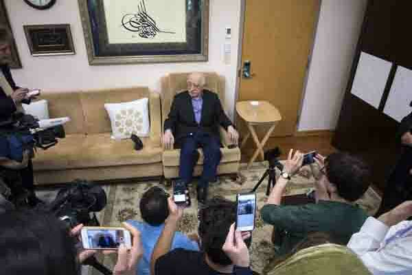 Fethullah Gulen at his compound in Saylorsburg, Pa., July 16, 2016. Gulen has become a central point of tension between United States and Turkey, which has blamed him an attempted coup and is seeking his extradition.