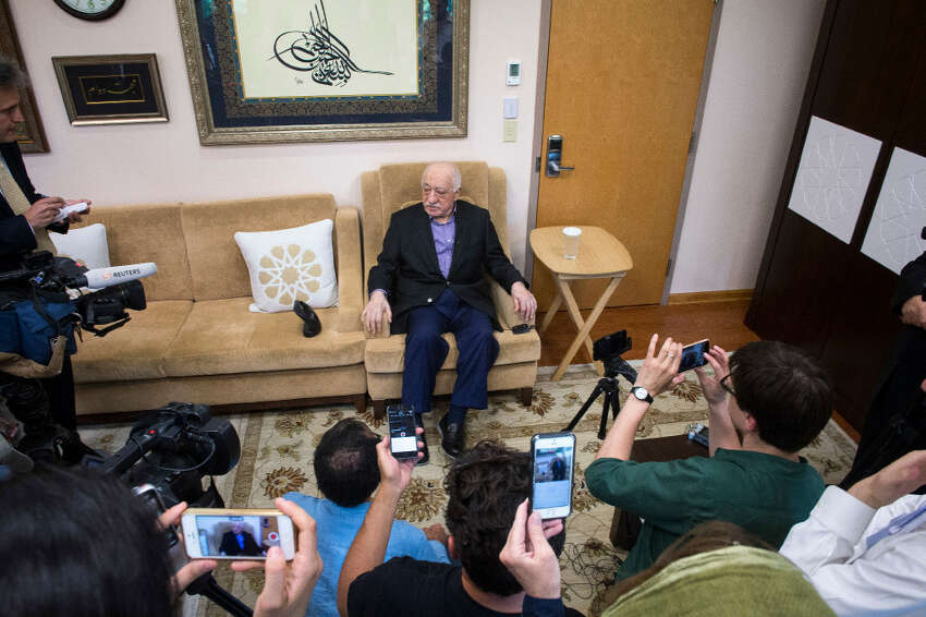 Fethullah Gulen, shown at his compound in Saylorsburg, Pa., July 16, 2016, has become a central point of tension between United States and Turkey, which has blamed him for the attempted coup and is seeking his extradition.