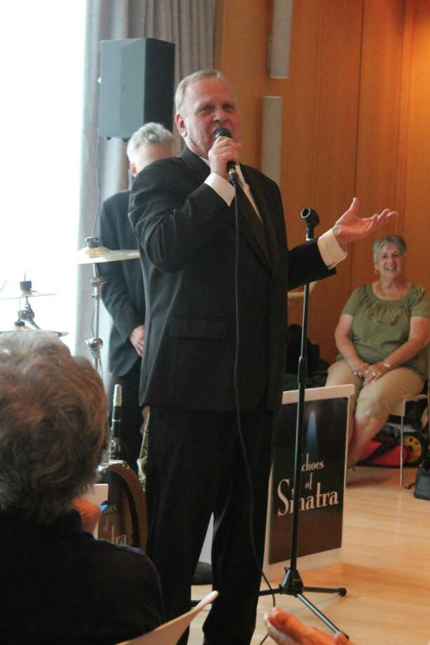 Steve Kazlauskas brings Sinatra's style to Wilton Library's Brubeck Room. Photo: Contributed Photo