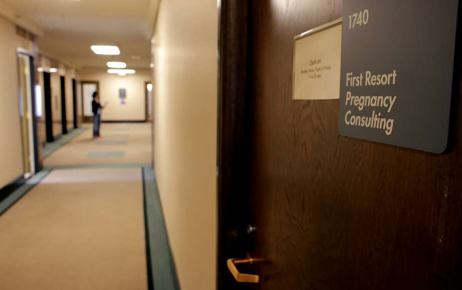 First Resort is one of two crisis pregnancy centers in San Francisco that will not refer patients to abortion providers. Photo: Lacy Atkins, The Chronicle