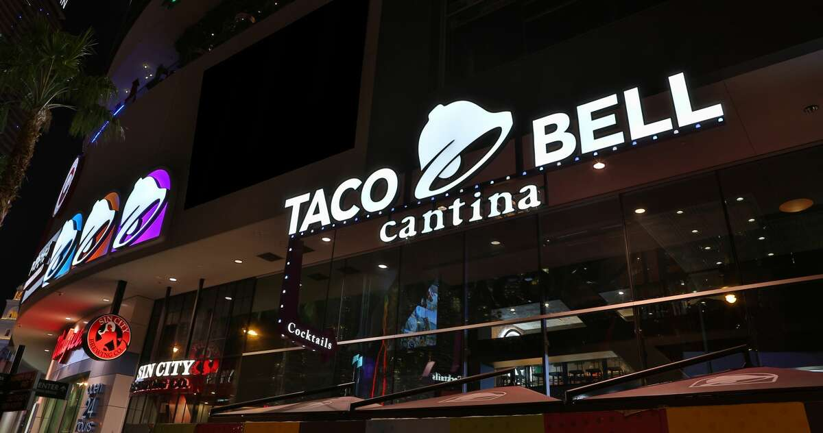 Taco Bell's flagship Las Vegas Cantina restaurant, located on the Las Vegas Strip.
