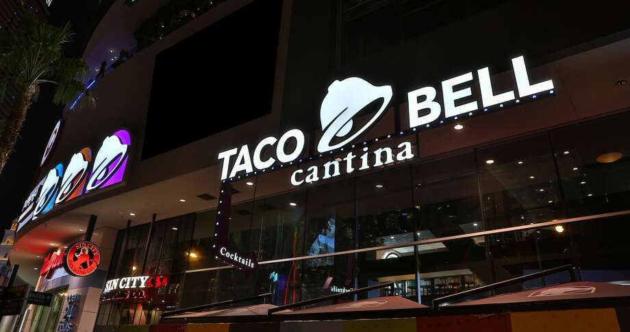 Taco Bell's flagship Las Vegas Cantina restaurant, located on the Las Vegas Strip. Photo: Courtesy Taco Bell