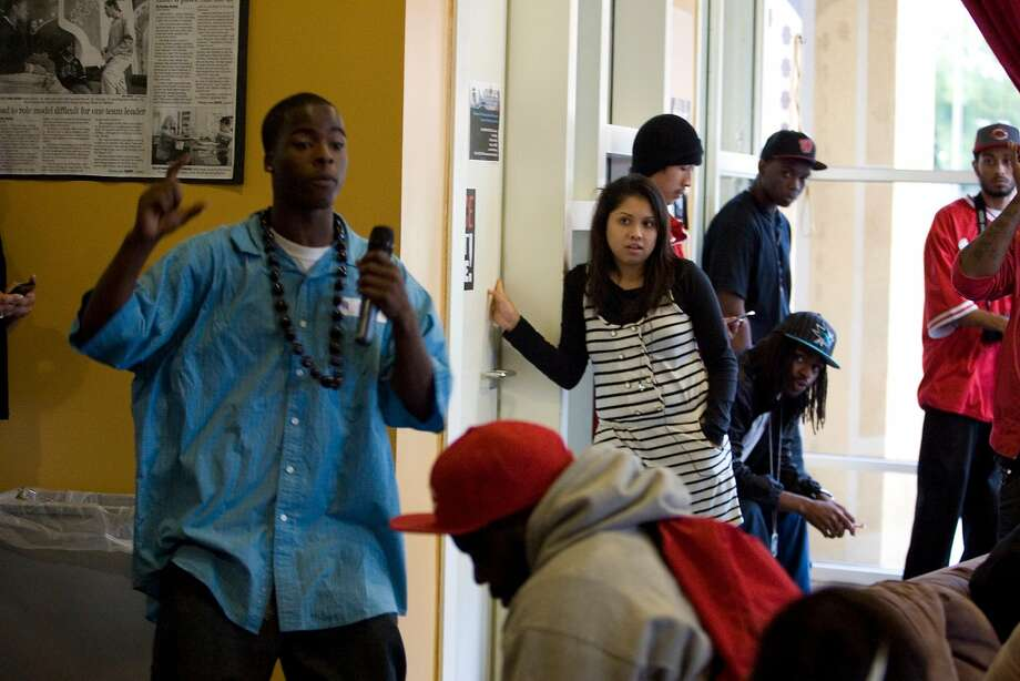 A 2010 file photo of an event at Youth Uprising. Photo: Kat Wade, Special To The Chronicle