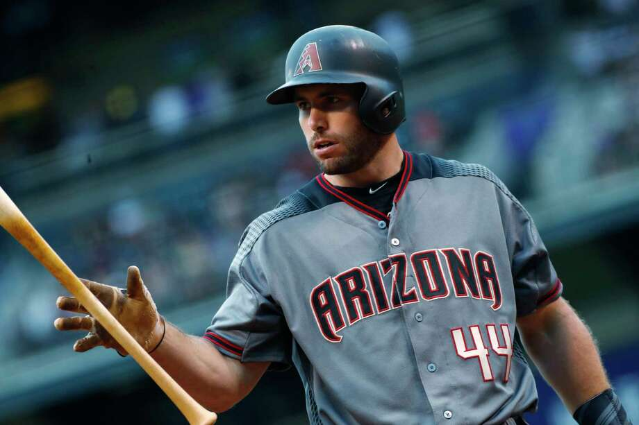 Arizona Diamondbacks' Paul Goldschmidt, a graduate of The Woodlands, is currenlty third in first basebaman All-Star voting. Photo: David Zalubowski, STF / Copyright 2017 The Associated Press. All rights reserved.