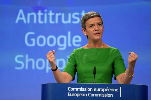 European Union Commissioner for Competition Margrethe Vestager said her agency's years-long probe left no doubt that Google needed to be reined in.