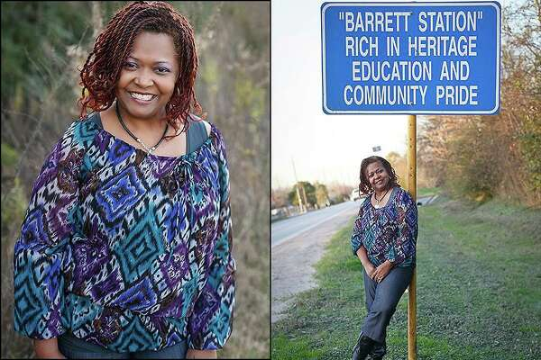 Carla Mills Windfont is a Crosby ISD school board member and lifelong resident of Barrett Station in Crosby.
