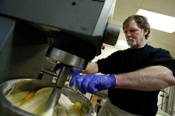 Jack Phillips, a baker in Lakewood, Colo., said no to making a wedding cake for a gay couple. He said that would run against his Christian beliefs.